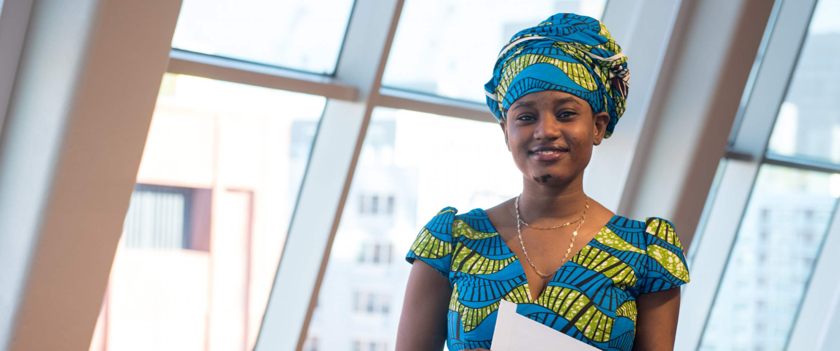 Banner Photo: Fatouma (Biology, SUNY Oneonta)